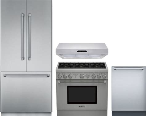 Thermador THRERADWRH37 4 Piece Kitchen Appliances Package