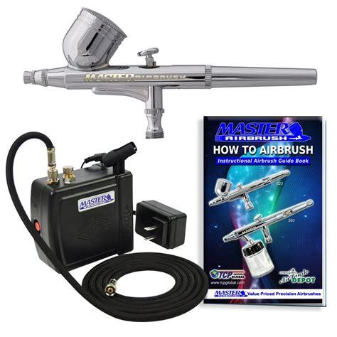 Mini Compressor Airbrush Set new airbrush kit compressor nail dual spray air brush gun set ebay