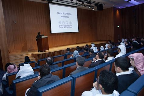 Mba Institutes In Doha by 42 Secondary Schools In Qatar To Join 2nd Qatar Steam Fair