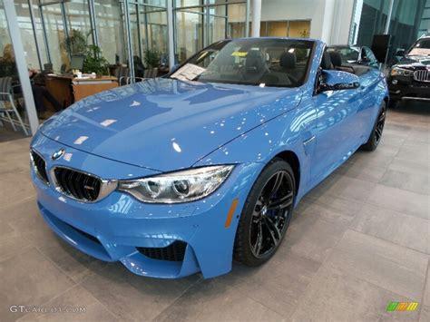 bmw blue colors 2016 yas marina blue metallic bmw m4 convertible