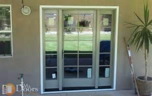 Single Patio Door Mr Doors And More Inc Sliding Patio Door To Hinged Patio Door Replacement