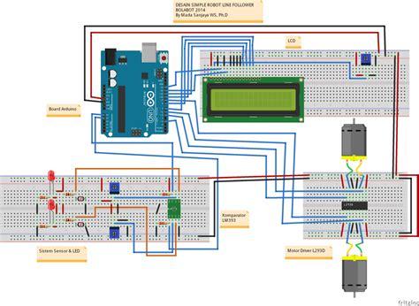 membuat robot line follower dengan arduino robot line follower digital menggunakan arduino simple