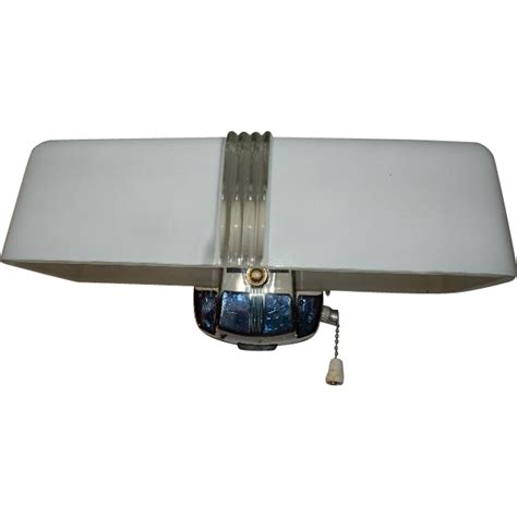 Bathroom Ceiling Light With Pull Chain Vintage 2 Light Bulb Chrome Bathroom Wall Fixture W Pull