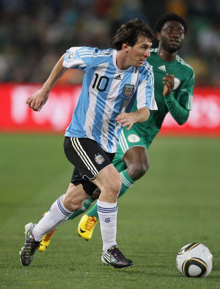 Shaw From Argentina And Mba From Ut by Argentina V Nigeria B 2010 Fifa World Cup Zimbio