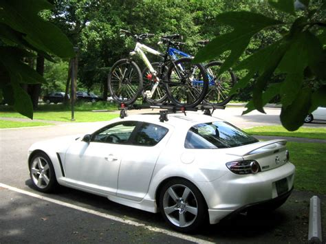 Rx8 Roof Rack by White With The Yakima Raptor Roof Rack Rx8club