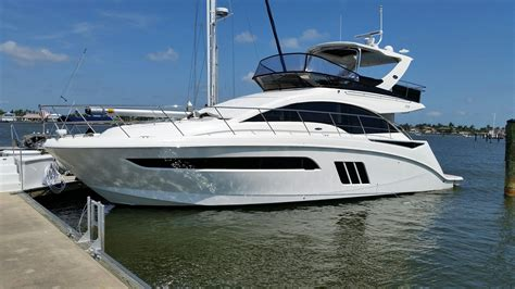 sea ray boats with flybridge 2015 sea ray 510 fly power boat for sale www yachtworld