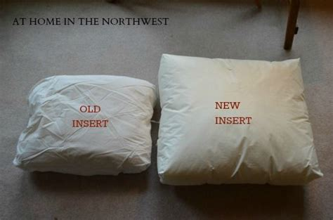 buy replacement inserts  pottery barn cushions