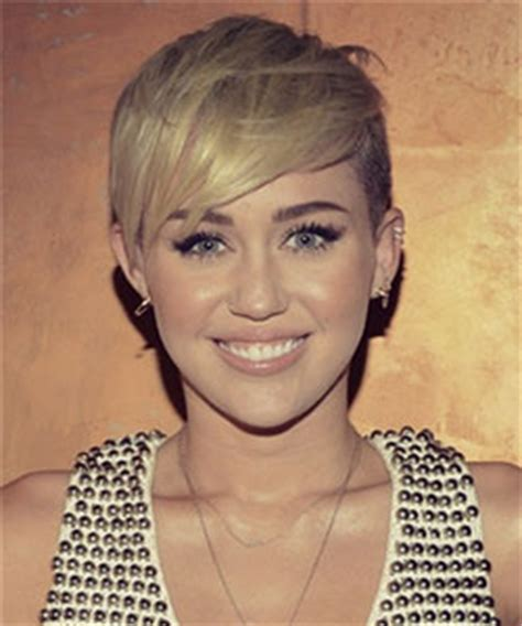 what kind of hair cut did miley have miley cyrus from pixie to mohawk
