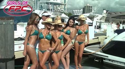 boats and hoes miami florida powerboat club poker runs events and fpc girls