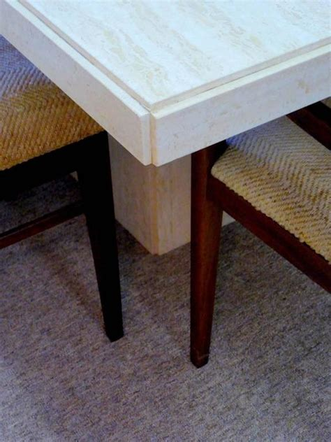 Travertine Dining Table For Sale Travertine Dining Table For Sale At 1stdibs