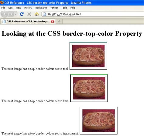 css tutorial english html border color 28 images how to add html table