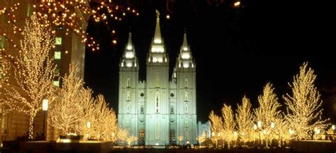 temple square lights 2017 2018 2010 lights on temple square church and events