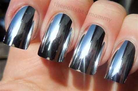Metallic Nail Polishes by Metallic Nail Best Brands Gold Silver Mirror