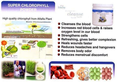 Chlorophyll Detox Benefits by Unicity Chlorophyll Powder Botanical Beverage Whitening