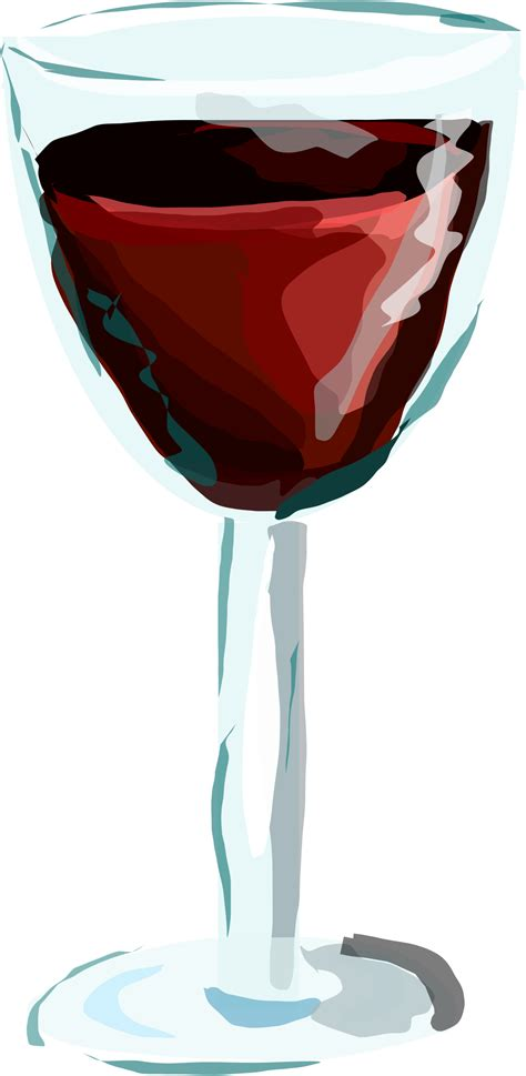cartoon wine glass wine glasses clip art free vector graphics freevectors
