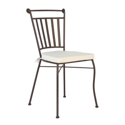 sedie ferro sedia ferro battuto cuscino mobili etnici provenzali