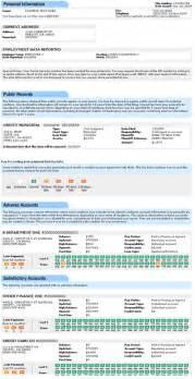 Sample credit report experian sample credit report experian