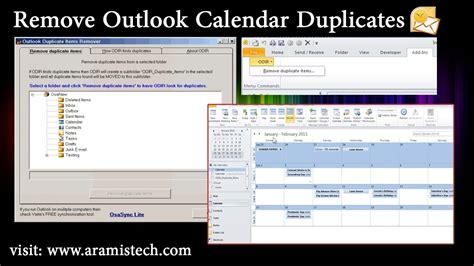 remove doodle calendar from outlook remove outlook calendar duplicates