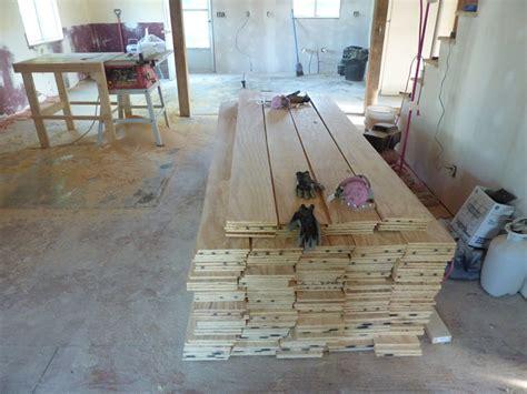low budget diy plywood plank floors diydork com