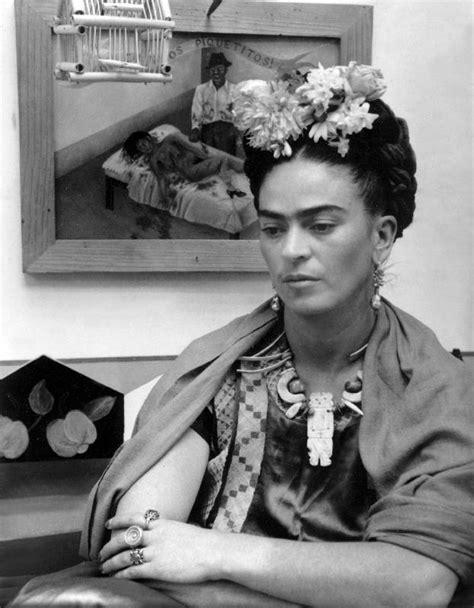 imagenes en blanco y negro de frida kahlo mexican painter frida kahlo als kunstdruck oder