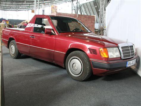 E Up Tieferlegen by Mercedes Benz W124 Pickup Bildersammlung Von Christof