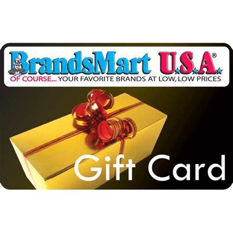 Dollar Store Gift Cards - brandsmart usa gift card 50 gift box fifty dollar gift box purchase online or at any