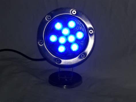 Led Dock Light Bulbs 9 Watt Blue Led Stainless Dock Light 720 Total Lumens 12 Volt Boat Lift Warehouse