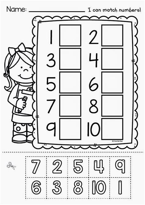 free printable preschool cut and paste activities a little bit of zoo and a hullabaloo number worksheets