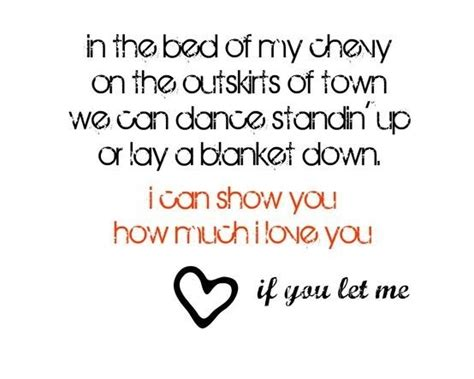 bed of my chevy lyrics justin moore quotes quotesgram