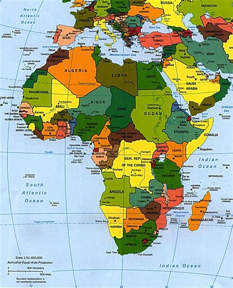 africa map 2010 my map of africa okeowo