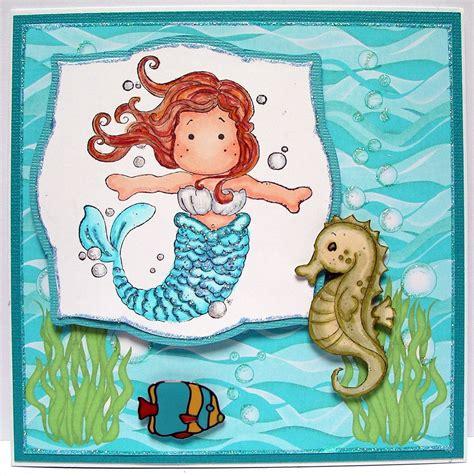Mermaid Birthday Card Ballerina Craft Mermaid Birthday Card