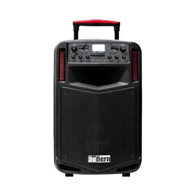 Sound System Portable Aubern Be 12cr With Wireless Mic jual wireless sound system baru harga promo original blibli