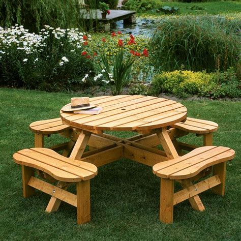 wooden picnic bench plans pdf woodwork round wooden picnic table plans download diy plans the faster easier way to