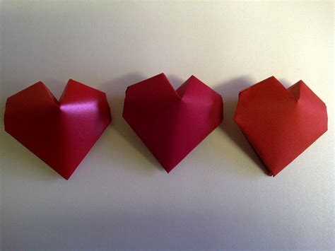 3d Hearts Origami - three delightful origami 3d 2018