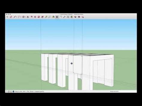 sketchup booth design tutorial sketchup make tutorial a simple booth design youtube