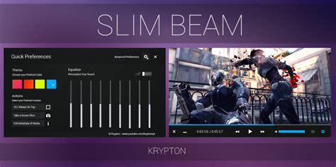 Themes Vlc | vlc slim beam black skin by kryptonsyt on deviantart