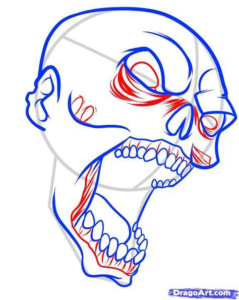easy zombie tattoo how to draw a zombie tattoo zombie tattoo step by step