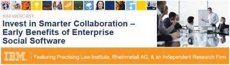 Ibm collaboration solutions meldungen und events