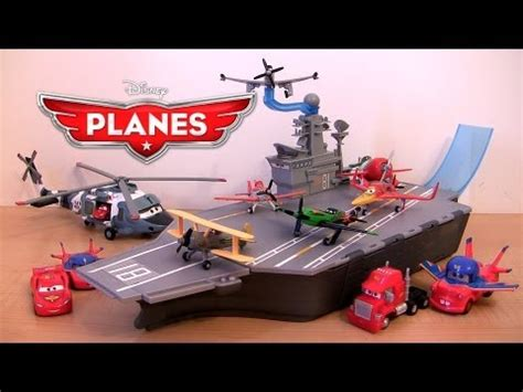 yorkie carries out of store disney planes yorkie aircraft carrier playset stores 6 planes cars mack truck