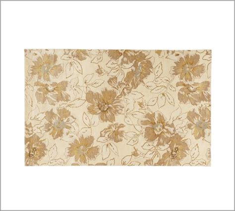 Pottery Barn Floral Rug by Floral Rug Pottery Barn