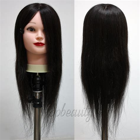 Hair Mannequin Heads Ebay by All 100 Real Human Hair Mannequin