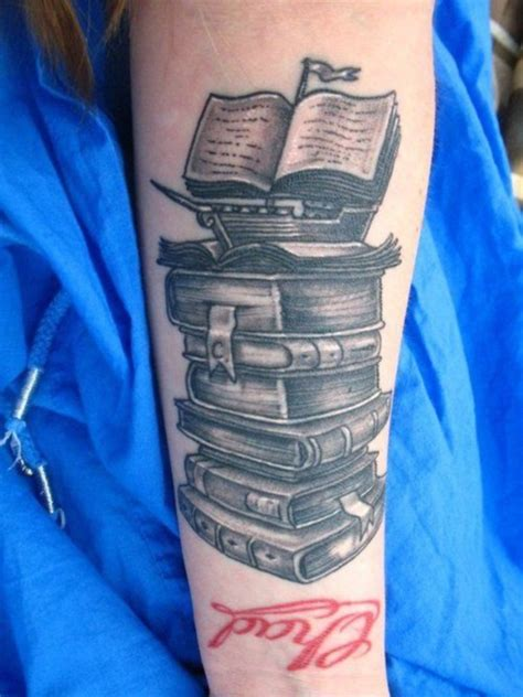 50 attractive literary tattoos for book lovers