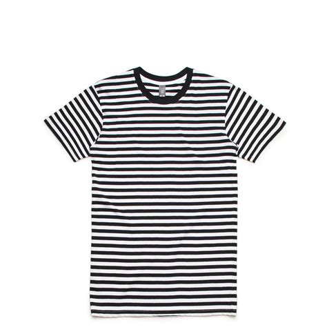 T Shirt Stripe 5028 staple stripe t shirts as colour