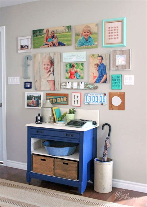 gallery wall design make an easy gallery wall with shutterfly design a wall