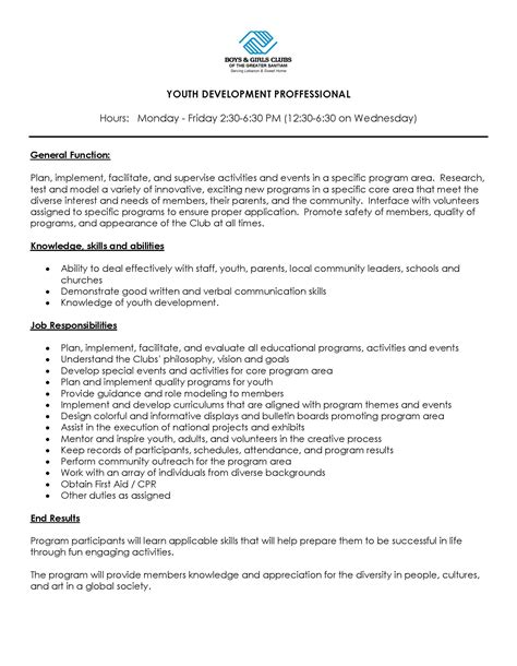 Youth Leader Cover Letter by Youth Program Leader Cover Letter Cover Letter Templates