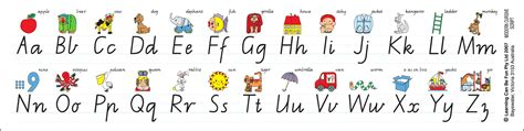 printable alphabet desk strips alphabet desk strip vic modern cursive 30 pack teachers