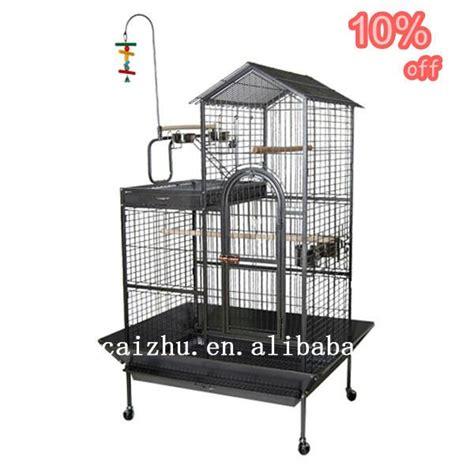 pappagallo in gabbia delux metal combo uccello gabbia per pappagalli pet gabbia