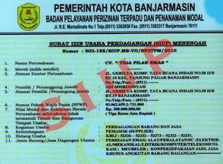 kerja usaha mengajukan surat izin usaha perdagangan siup