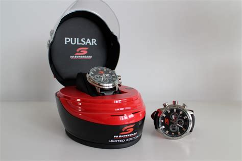 Supercar Giveaway - giveaway win 1 of 2 limited edition pulsar pu2083x chronographs man of many