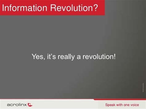 Is It Really An Information Revolution andrew information revolution